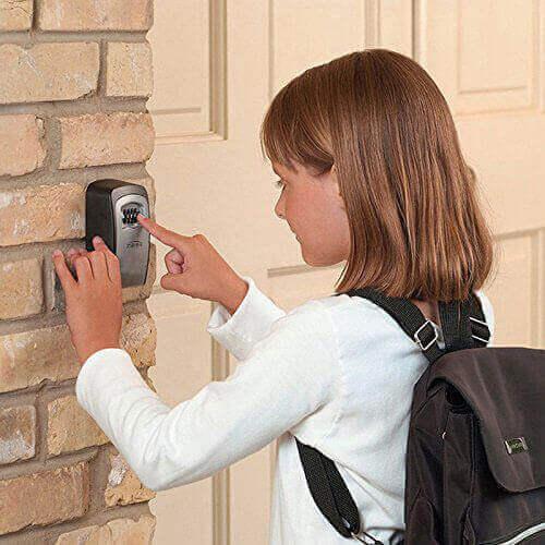 Pour le stockage en toute sécurité des clés et autres objets de valeur
