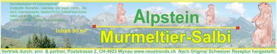 Alpstein Murmeltiersalbi